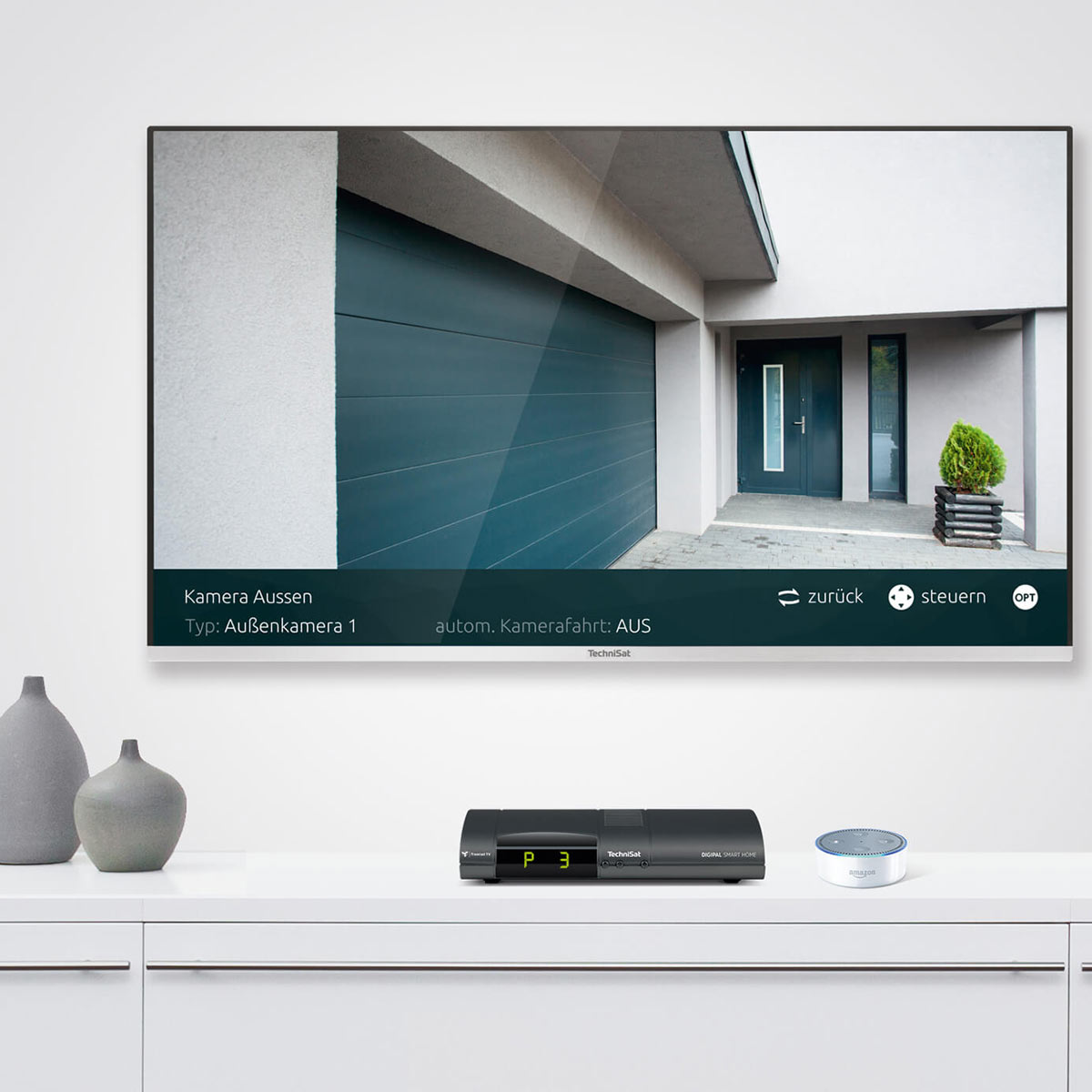 System smart home z asystentką Alexa