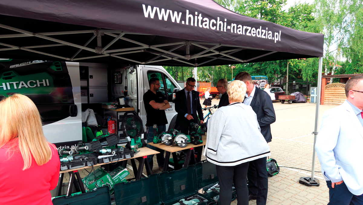 20 lat Hitachi Power Tools Polska